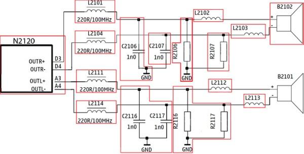 buzzer N82 skema