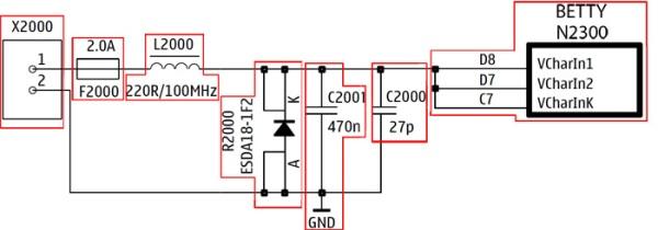 charger N82 skema