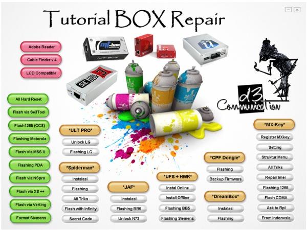 Tutorial all Box repair
