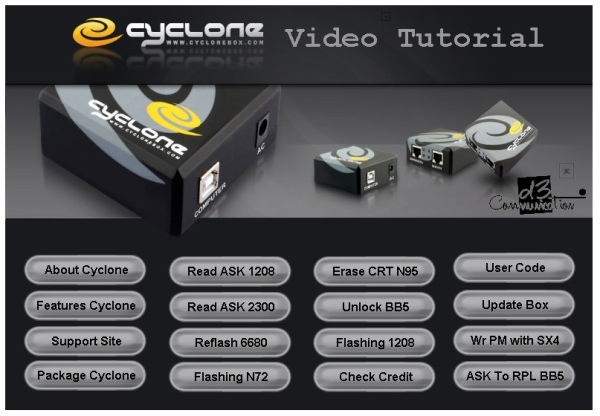 Cyclone Box tutorial oke