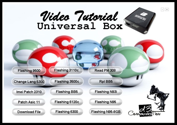 UNIVERSAL BOX tutorial